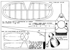 Heinkel p1 model airplane plan
