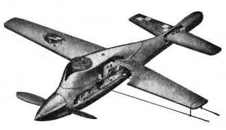 Hell Razor model airplane plan