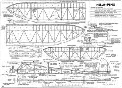 Hella Peno-FM-10-76 model airplane plan
