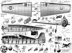 Hellcat CL 1945 model airplane plan