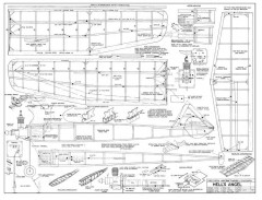 Hells Angel 2 model airplane plan