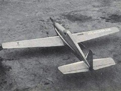 Henchman model airplane plan