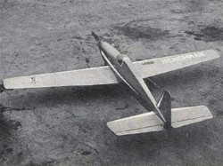 Henchman model airplane plan
