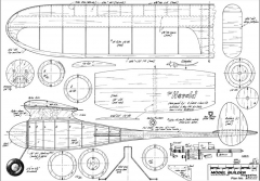 Herald MB-06-82 model airplane plan