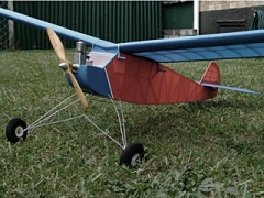Heron model airplane plan