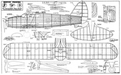 Heston model airplane plan