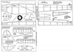 HiClimber model airplane plan