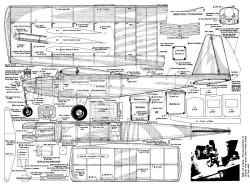 Hi Fin '64 model airplane plan