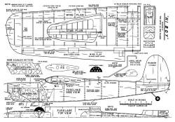 Hi Boy model airplane plan