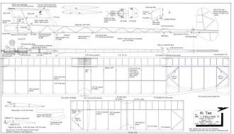 Hi Tee 13 model airplane plan