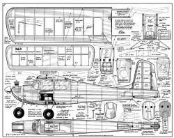 HighQ model airplane plan