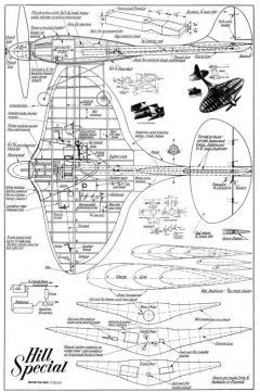 Hill Special CL model airplane plan
