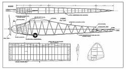 Hobo FM 1949 model airplane plan