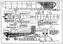 HoneyBee model airplane plan