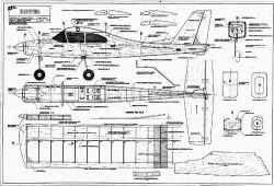 Hooper model airplane plan