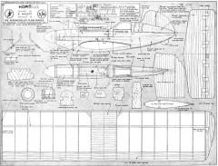 Hoppit model airplane plan