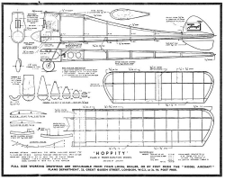 Hoppity model airplane plan