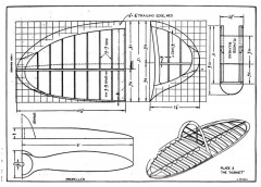 Hornet p3 model airplane plan