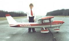 Hostetler Giant Scale Cessna 150 / 152 + Aerobat model airplane plan