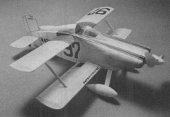 Hot Canary model airplane plan