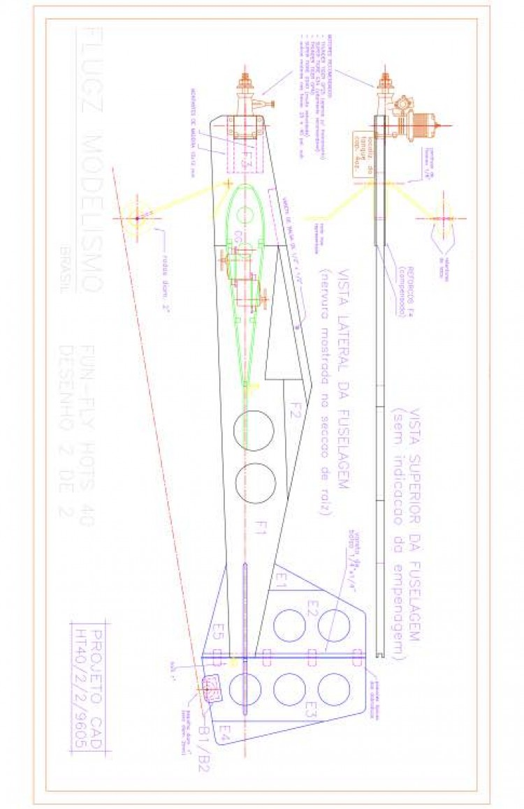 Hots40 1 Model 1 model airplane plan