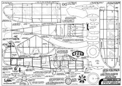 Howard DGA-9 model airplane plan