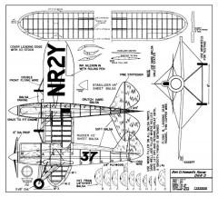 HowardPete model airplane plan