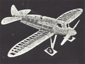 Howard Pete model airplane plan