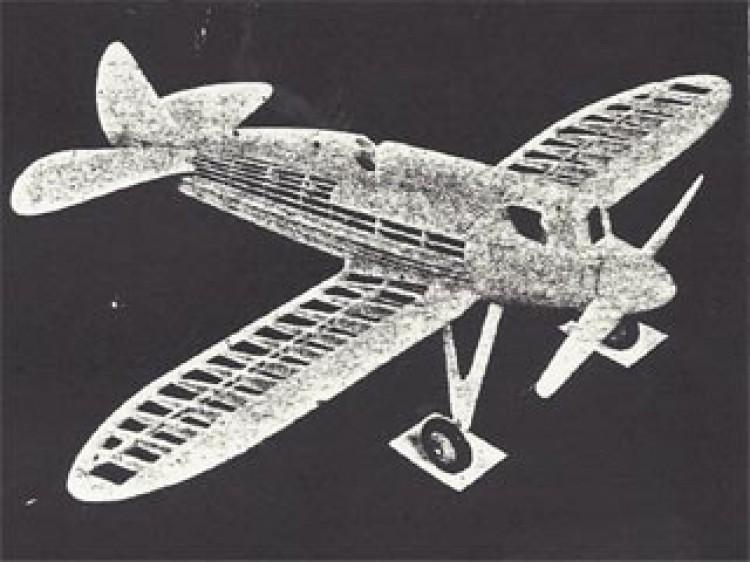 Howard Pete model airplane plan
