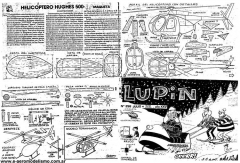 Hughes500 model airplane plan