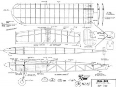 Hum Bug model airplane plan