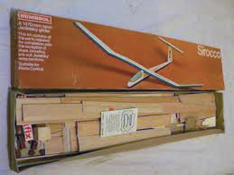 Humbrol Sirocco model airplane plan