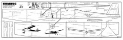 Humbug new model airplane plan