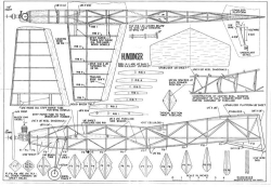 Humdinger model airplane plan