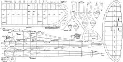 Humdinger Scientific model airplane plan