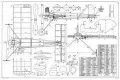 Hummel model airplane plan