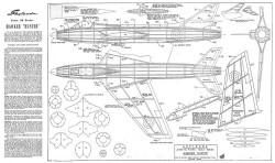 Hunter model airplane plan