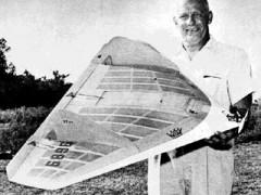Hustler XD-7 Delta model airplane plan