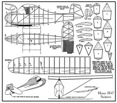 Hutter H-17 model airplane plan