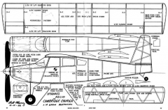 Hyannis Helio 16in model airplane plan