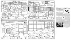 IAR-14 Pursuit model airplane plan