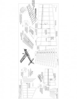 INSIGHT v2-sheet3 Model 1 model airplane plan