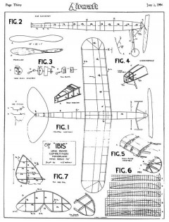 Ibis model airplane plan