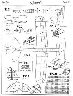 Ibis model airplane plan