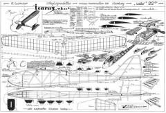 Icarus model airplane plan