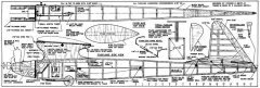 Ichabod 60in model airplane plan