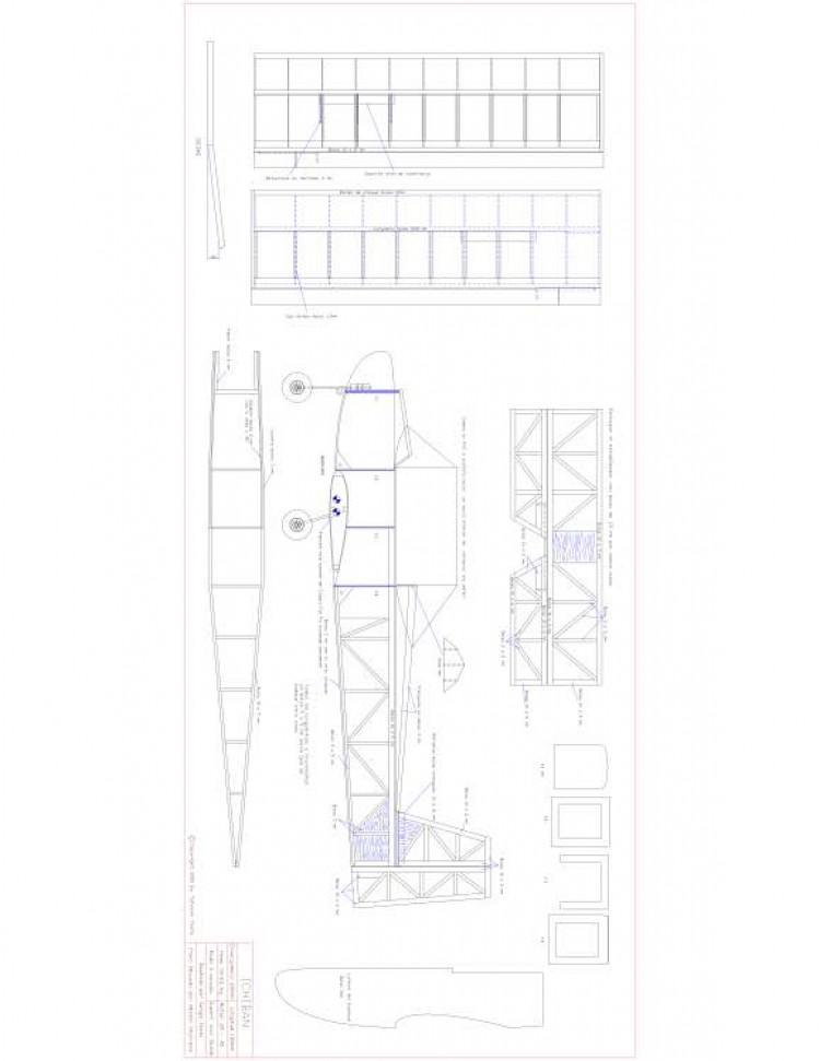 Ichiban Model 1 model airplane plan