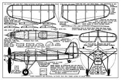 Ikarus-IK-2 model airplane plan