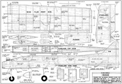 Image-FM-04-85 model airplane plan