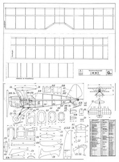 Imme model airplane plan